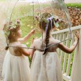 Pourquoi choisir un parapluie transparent pour un mariage ?